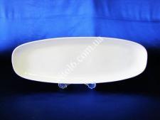 Блюдо для риби керамічне біле 48см*17см VT6-18686(22шт)