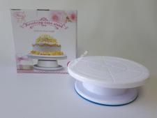 Стойка пластм для торта вращающ.27,5см*9см VT6-18744(24шт)