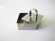 Форма нерж.для гарніру з виштовхувачем квадратна 4см VT6-18766 (288шт)