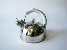 Чайник нерж. 3 л с белой ручкой   VT6-18894(12шт)