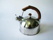 Чайник нерж. 3 л с коричневой ручкой   VT6-18895(12шт)
