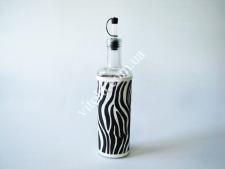 Ёмкость стекл. для масла 30см  Зебра 0,7л VT6-19076(24шт)