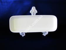 Блюдо керамическое глубокое белое 41*14см VT6-18627(16шт)
