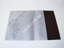 Салфетка под тарелку  Ветка  30*45 (3цв) коричневая,сиреневая,серая VT6-18904(300шт)