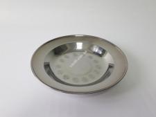 Тарелка глубокая нерж 22см VT6-18967(200шт)