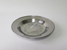 Тарелка глубокая нерж 24см VT6-18968(200шт)