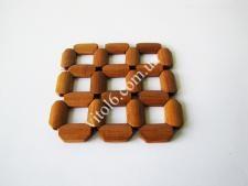 Подставка под горячее деревянная 12*12см VT6-18746(828шт)
