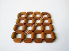 Подставка под горячее деревянная 15,5*15,5см VT6-18747(480шт)