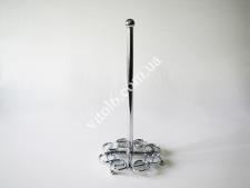 Держатель бумажного полотенца металл Цветок ажурный VT6-19029(120шт)