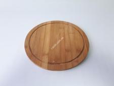 Доска деревянная для пиццы О28см VT6-19035(30шт)