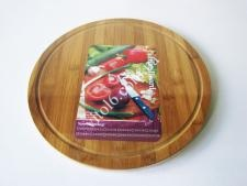 Дошка дерев яна для піци О36см VT6-19040(30шт)