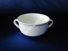 Чашка для бульону керамічна біла  О13см h-6,5см 500мл VT6-19061(36шт)