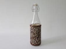 Ёмкость стекл. для масла 1л с пробкой VT6-19070(24шт)