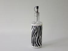 Ємність скл. для  олії  25см  Зебра 0,5л VT6-19075(48шт)