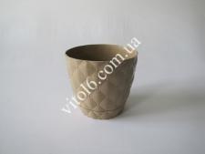 Кашпо №436   Ромбик  о 14,5 см  (60шт)