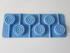 Форма силиконовая на планшете 9*14 из 6-ти для леденцов Цветы  VT6-19109(200шт)