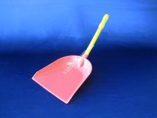 Совок с длинной ручкой  в/с цветной  (10шт)