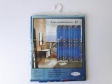 Штора в ванную атласная № 819  (100шт)