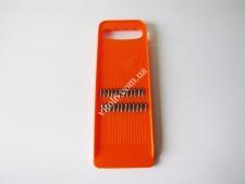 Тёрка для корейской моркови оранжевая  10*29смVT6-19150(200шт)