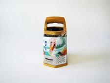 Тёрка 6-ти гранн 8 нерж с пластм ручкой VT6-19157(96шт)