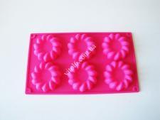 Форма силикон.на планшете  Цветы из 6-ти 29*17*2см VT6-19190(200шт)