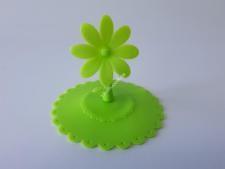 Крышка силиконовая на чашку О10см  Цветок  VT6-19213(500шт)