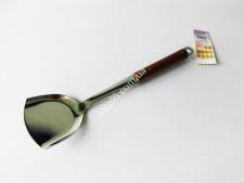 Лопатка нерж 0930 с деревян ручкою 36,5см VT6-19214(200шт)