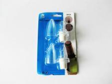 Пробки пластм в наборе из 2-х с дозаторм с колпачком VT6-19257(144шт)