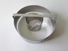 Форма нерж кондит.з втулкою (15см, 5,5 см)  Круг  VT6-19292 (96шт)