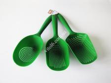 Набор лопаток-шумовок пластм глубоких из 3-х 33смVT6-19314(120шт)