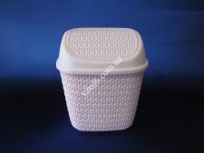 Ведро мусорное Сетка  ТР4043  7,5л (24шт)
