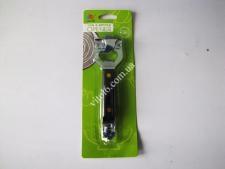 Консервооткрыватель металл с пластм.цветной ручкой 13смVT6-19392(240шт)
