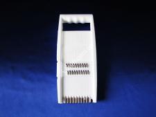 Тёрка нерж +пластм с насадками 11*26см VT6-19402(160шт)