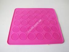 Форма силiк для випічки  Macarons  25*28см (30шт*3,5 см) VT6-19421 (120шт)