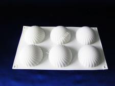 Форма силіконова для муссових тортів на планшеті (6 шт)  XY-C183  30*17*4см VT6-19454(100шт)