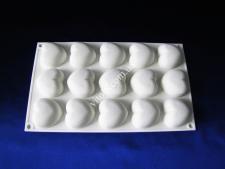 Форма силікон. для муссових тортів на планшеті (15шт)  Серце XY-C186  29*17см VT6-19456(100шт)