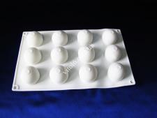 Форма силикон. для муссовых тортов на планшете(15шт) Сферы XY-C187  29*17см VT6-19457(100шт)