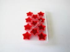 Форма пластм+силикон для льда 11*22  Звезда VT6-19524(200шт)