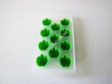 Форма пластм + силікон для льоду 11*22  Яблуко  VT6-19525 (200шт)