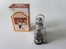Набор для специй из 3-х нерж (соль+перец+салфетн)VT6-19559(72шт)