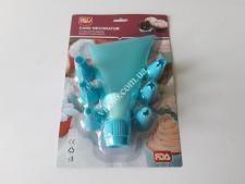 Мешочек силиконовый +6 пластм насадок VT6-19600(96шт)