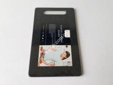 Доска пластм черная крошка 15*25*0,65см VT6-19607(60шт)