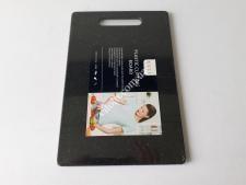 Доска пластм черная крошка 20*30*0,8см VT6-19608(48шт)