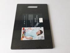 Доска пластм черная крошка 25,5*36*0,8см VT6-19609(24шт)
