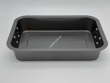 Форма тефлон черная 34*24,5*6,5 с металл ручкамиVT6-19647(20шт)