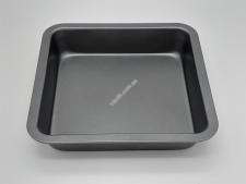 Форма тефлон черная 22,5*22,5*4см VT6-19728(100шт)