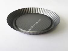 Форма тефлон черная Волна  О26,6*4 VT6-19734(100шт)