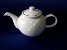 Чайник керам.білий  1200мл h13*14см VT6-19875(36шт)