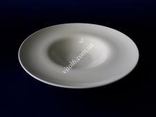 Тарілка керамічна біла для пасти О28 h5,5см  VT6-19896(24шт)