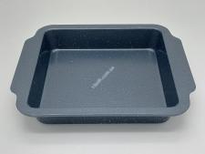 Форма тефлон серая крошка с ручкой 30*26,5*5см VT6-19627(50шт)